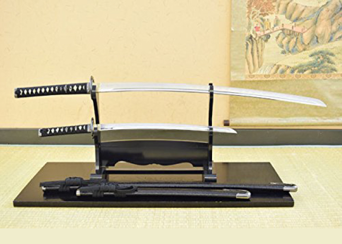 Japanese Value Katana:#10 Musashi Double Sword Set