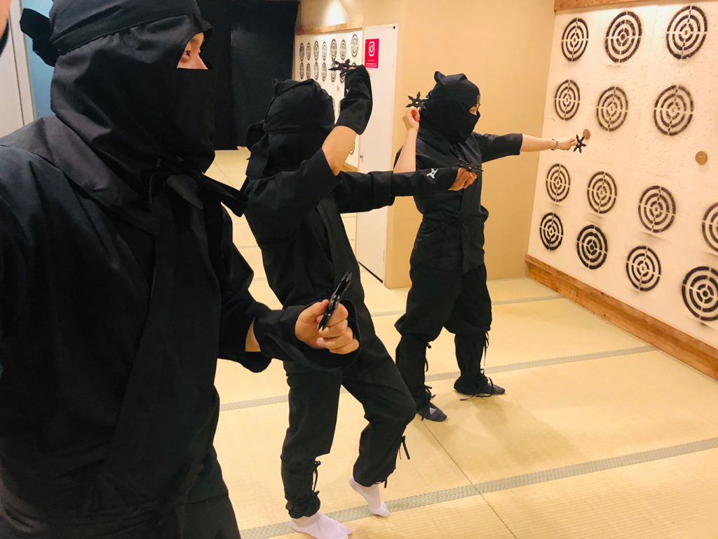 Ninja Experience in Kyoto for Kids and Families (Wear Full Ninja Outfit)