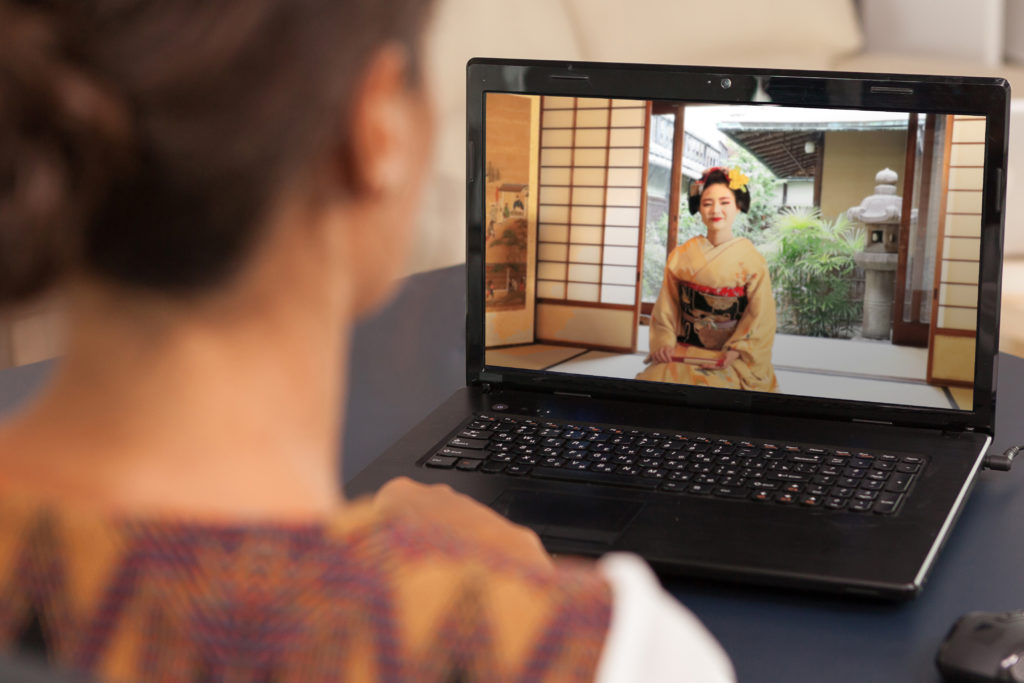 Geisha Online – PRIVATE Meeting with a Geisha or Maiko from Kyoto