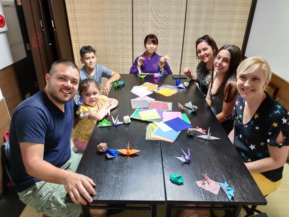 Japanese Culture & Play for Families in Tokyo (Origami, Calligraphy, Kendama)