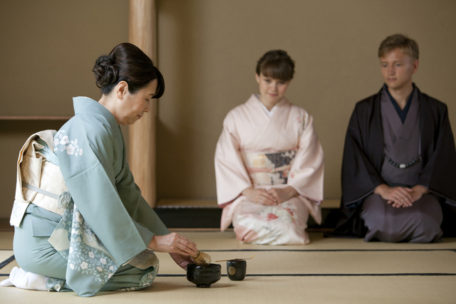 PRIVATE Kimono Tea Ceremony in Kyoto Maikoya