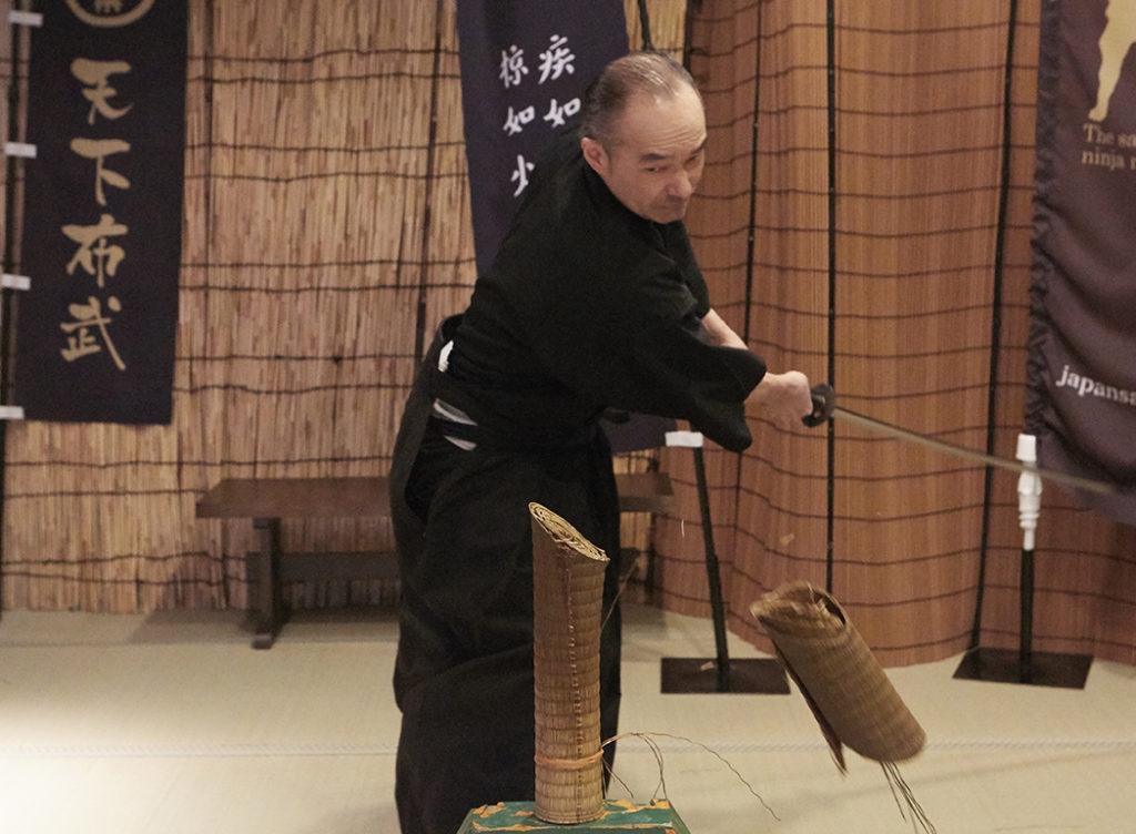Samurai sword experience (Need to Travel From Osaka to Kyoto)