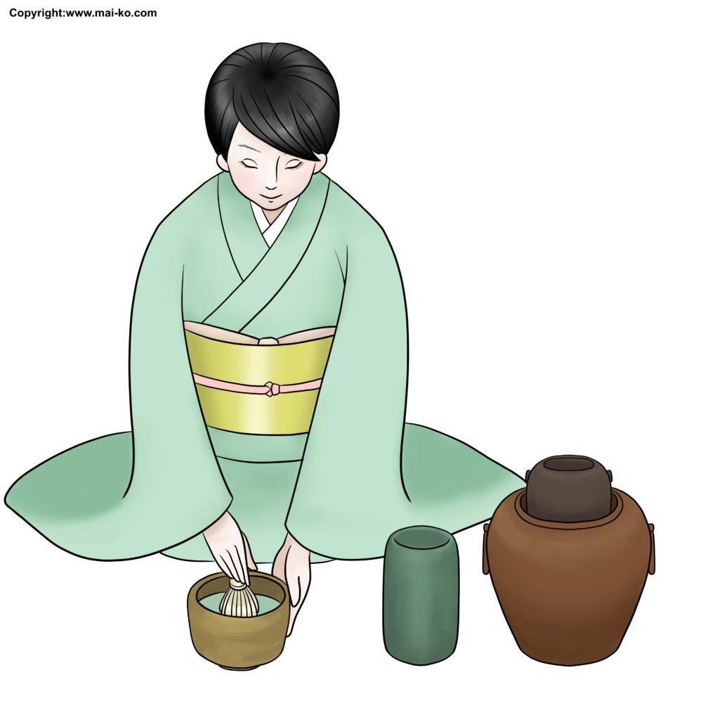 Japanese tea ceremony steps simplified