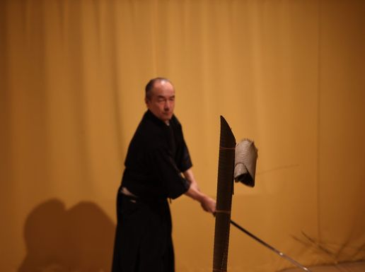 Samurai Sword Cutting Experience in Kyoto – Tameshigiri