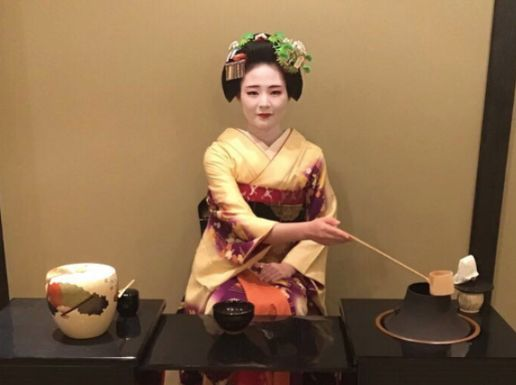 Geisha (Maiko) Tea Ceremony & Show in Kyoto GION (Includes Kimono Wearing, Includes Gion Walking Tour)