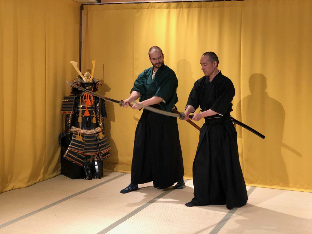 Samurai Sword Training for ADULTS