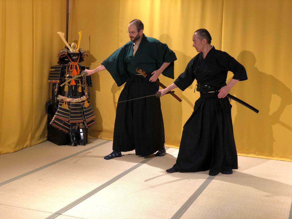 武士體驗: 武士刀特訓 (含博物館導覽&忍者體驗)