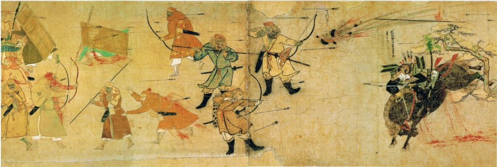 The Mongolian Invasion and the Kamikaze (1274 & 1281)