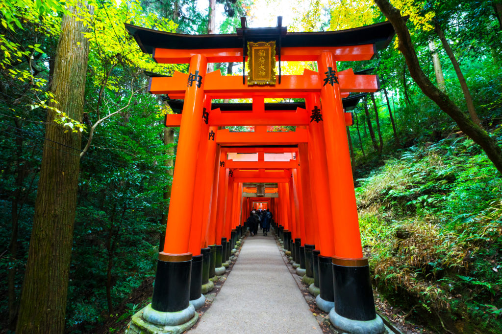 Fushimi Inari Shrine walking tour