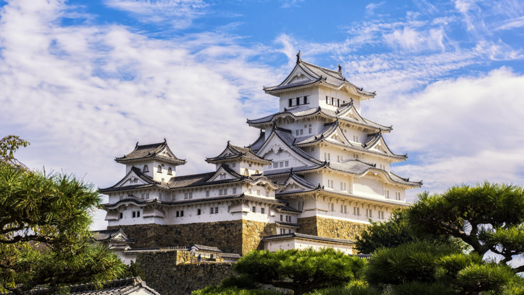 Japanese Castles in history