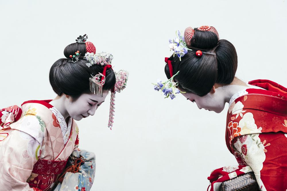 Maiko and Geisha Show in Osaka