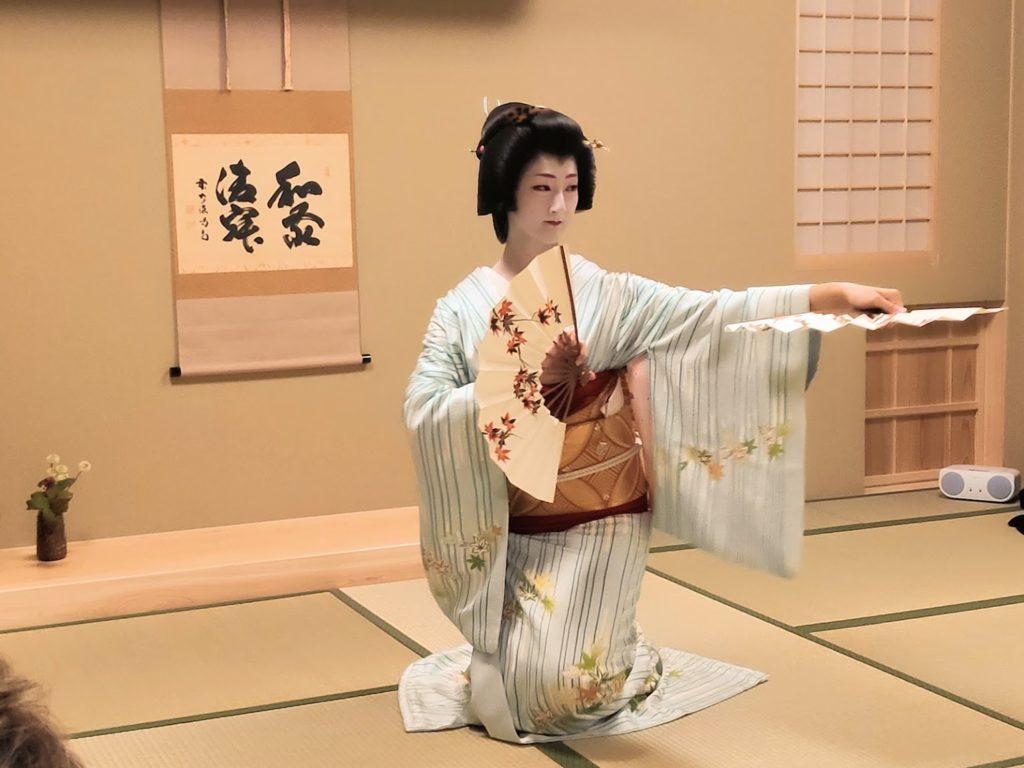 Japanese traditional dance