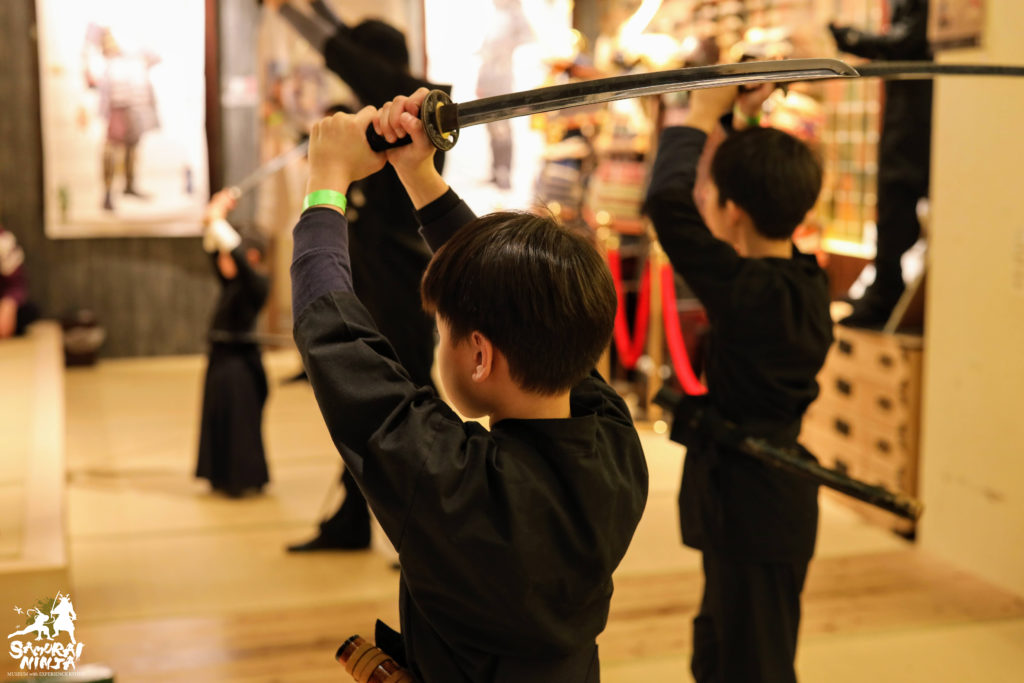 Samurai Sword Experience for Kids and Families (Ninja experience and Museum Tour included)