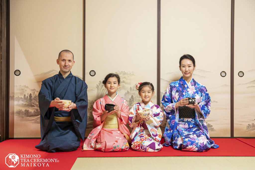 Tea Ceremony and Kimono for Kids and Families in Kyoto
