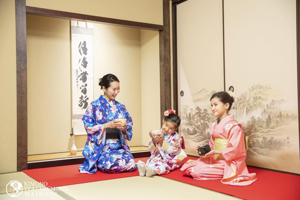 kimono tea ceremony kids 1