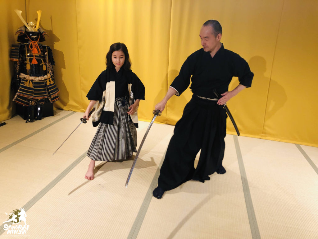 Samurai Sword Experience for Kids and Families (slide 1)