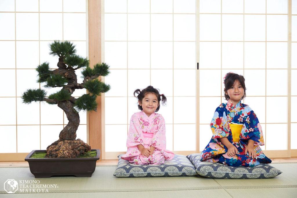 kimono tea ceremony kids