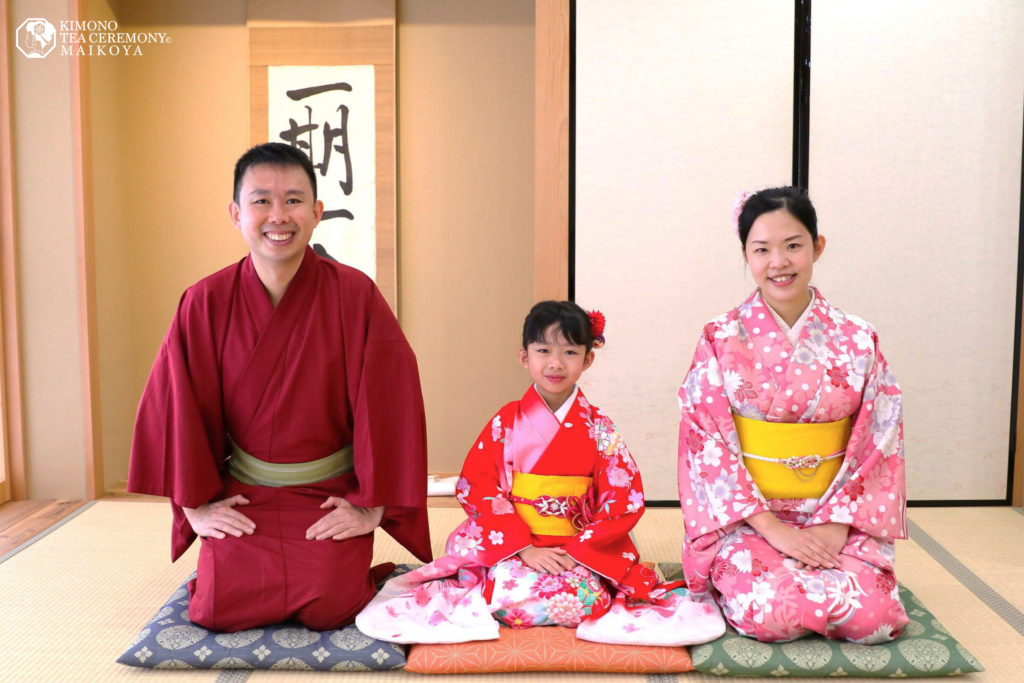 Tea Ceremony and Kimono for Kids and Families in Osaka