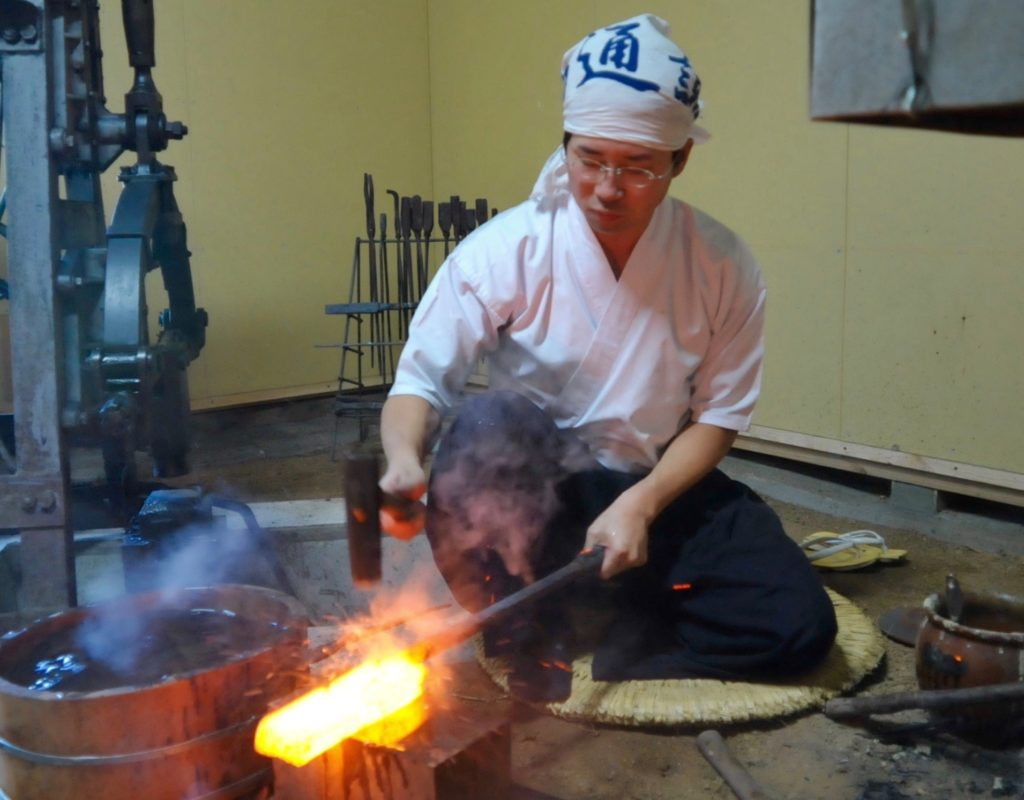 Katana Knife Sword Making in Kyoto Workshop