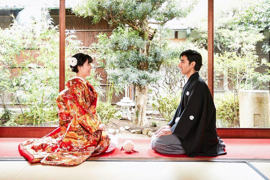 Honeymoon in Kyoto Japanese Wedding Dress and Photo Shoot + Tea Ceremony Experience
