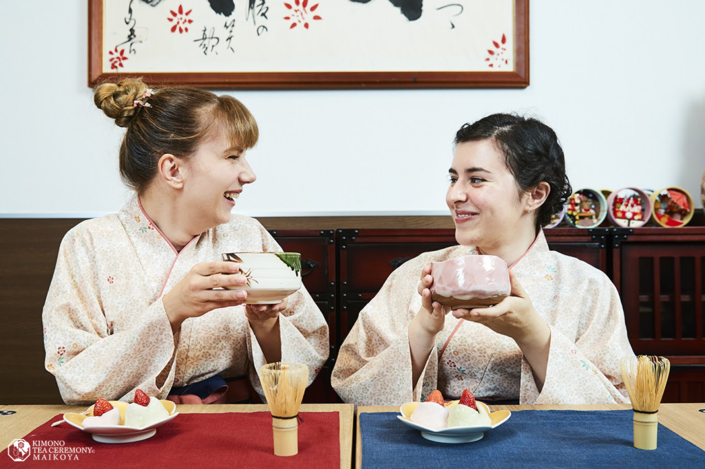 Japanese sweets making and Tea Ceremony in Tokyo Shinjuku