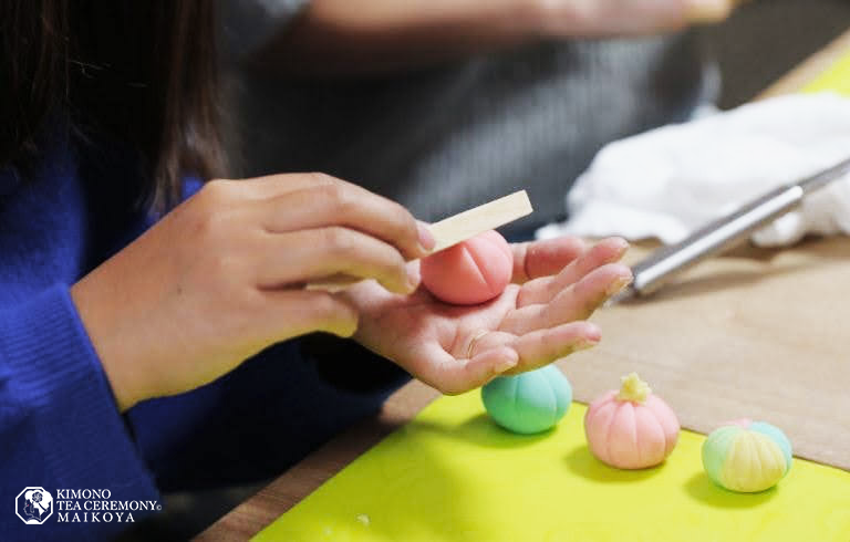 Sweets Making Wagashi Cooking Experience in Kyoto