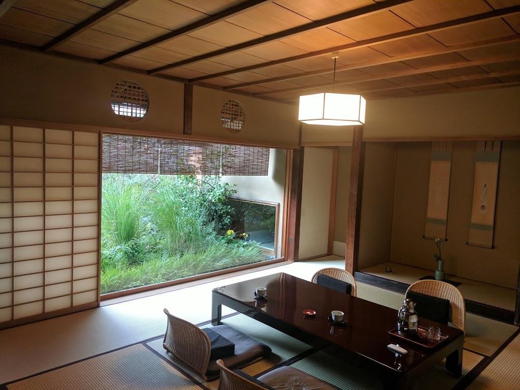 The Famous Tawaraya Ryokan in Nakagyo, Kyoto