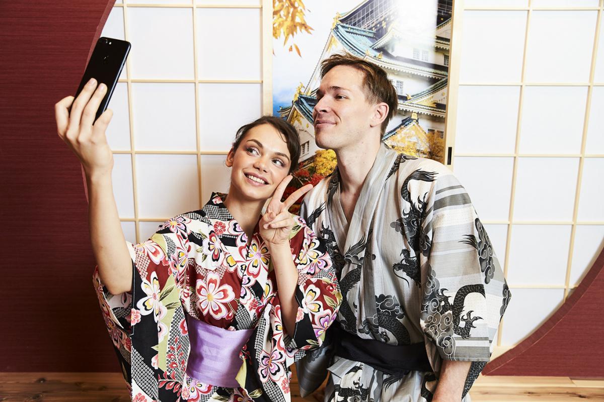 kimono photoshoot