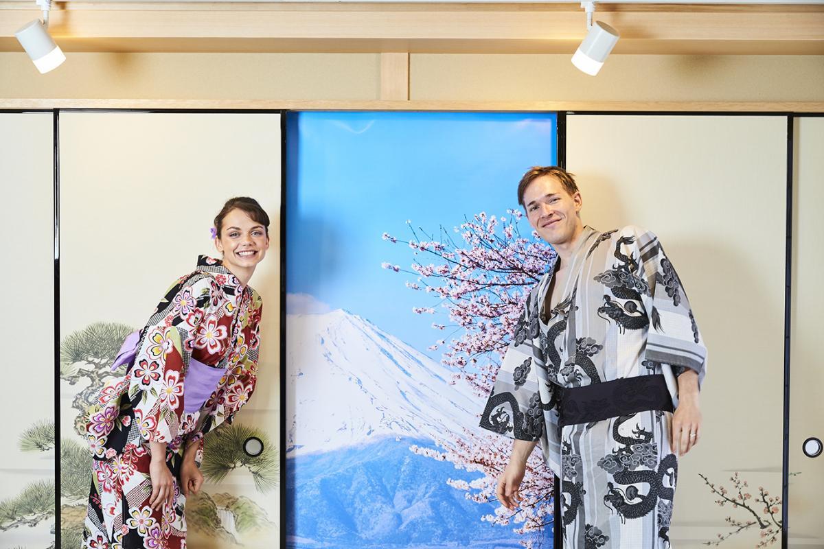 Kimono rental in osaka